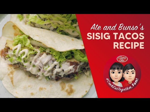 Sisig Tacos Recipe
